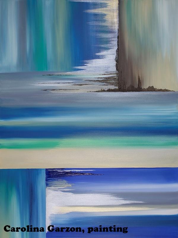 Carolina Garzon, painting