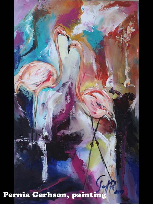 Pernia Gerhson, painting