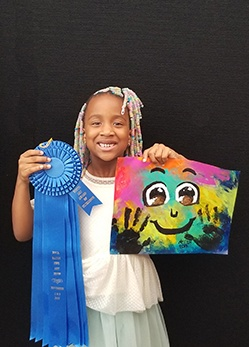 London Boswell, Painting, Age 8, Evergreen Community Charter School