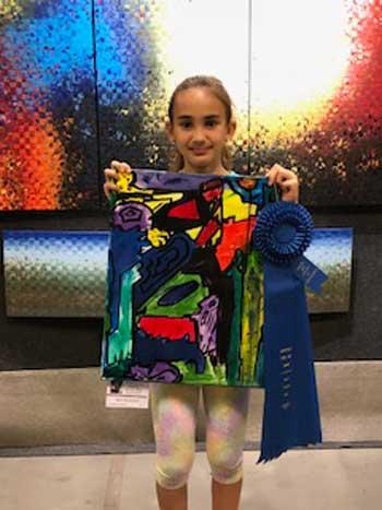 Anya Uscocovich, Painting, Age 9, E. E. Waddell Language Academy, Charlotte
