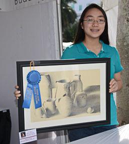 Jessica Pan Drawing Age 15