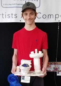Ilan Hirschman, Mixed Media, Age 16, Grandview Preparatory School