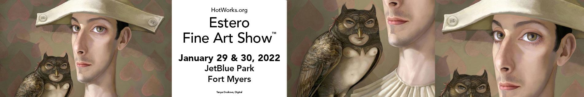 Estero Fine Art Show January 29 & 30, 2022