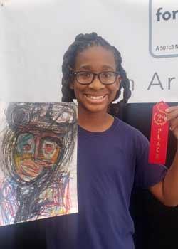 Nalin Isme, Painting, Age 13,