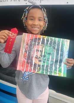 Ammar Isme, Age 10, Painting,