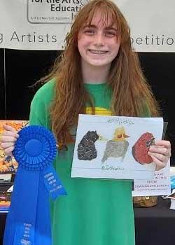 Alyssa Mellert, Age 13