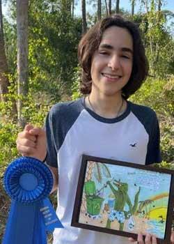 Ayden Abreu, Age 15