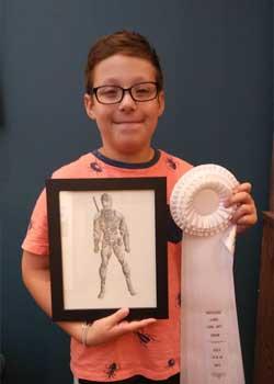 Noah Gordon, Age 10, Farmington Hills, MI