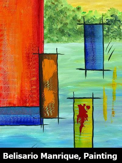 Belisario Manrique, Painting