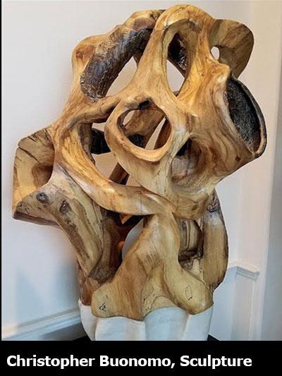 Christopher Buonomo, Sculpture