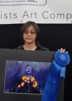 Vinny Ramirez, Digital, Age 14, Bak Middle School of the Arts