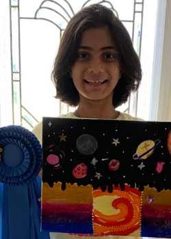 Shivanshi Pathak, Age 9, Mixed Media