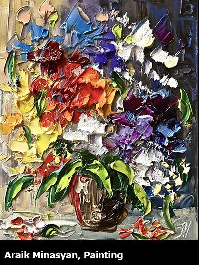 Arail Minasyan, Painting