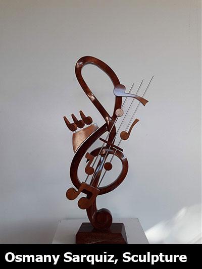 Osmany Sarquiz, Sculpture