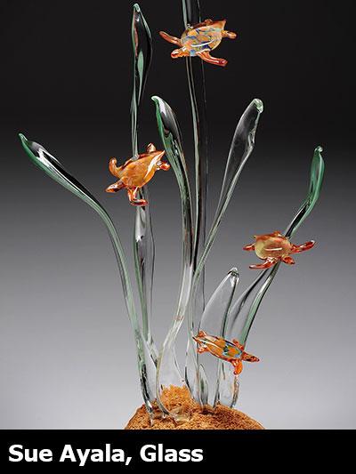 Sue Ayala, Glass