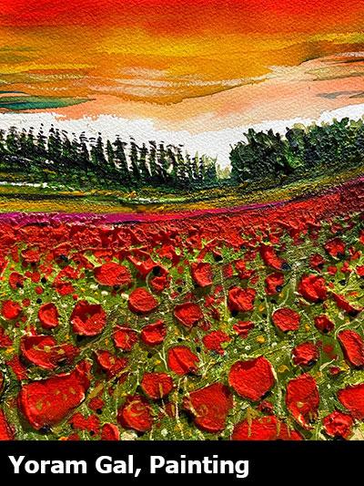 Yoram Gal, Painting